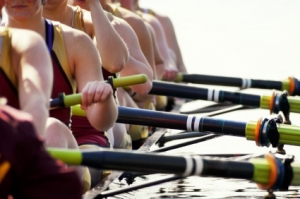 Close up Women's Rowing Team